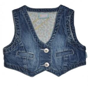 Paglie Jeans-Weste denim