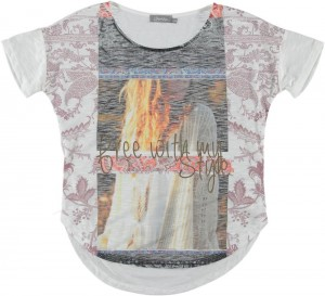 Geisha T-Shirt Photo-Print