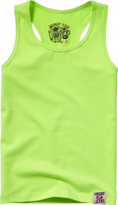 Vingino Racerback-Shirt/Tank-Top GINGER soft neon lime