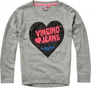 Vingino Langarm-Shirt/Longsleeve NELINDA grey mele