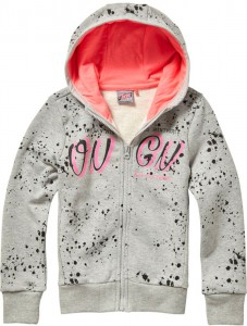 Vingino Kapuzen-Sweat-Jacke NIOMI grey mele