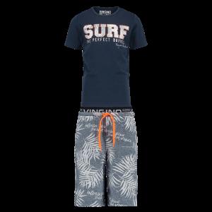 Vingino Schlafanzug/Pyjama kurz WUNYO SET dark blue