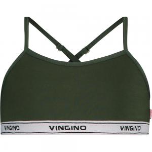 Vingino Bra / Bustier / Top SOLID dark army