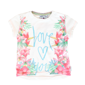 Vingino Mini Girls T-Shirt HANANI real white