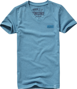 Vingino Basic T-Shirt V-Neck HAYCO blue bay