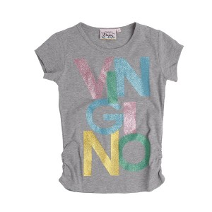 Vingino T-Shirt HETTY grey mele