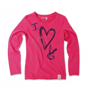 Vingino Langarm-Shirt / Longsleeve HOPE bright pink