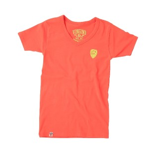 Vingino Basic T-Shirt V-Neck HORATIO orange
