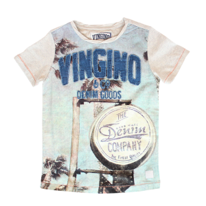 Vingino T-Shirt HUNO hellgrau melange