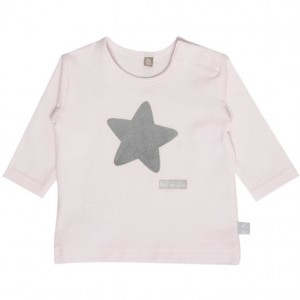 Hust & Claire Langarm-Shirt Stern soft rose