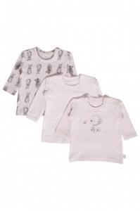 Hust & Claire Langarm-Shirt/Longsleeve Streifen soft rose