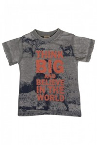 Hust & Claire T-Shirt Print pearl grey melange