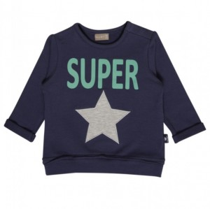 "Hust & Claire Sweat-Shirt ""SUPER"" deep blue"