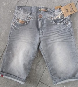 Blue Effect Jungen Jeans-Bermuda grau