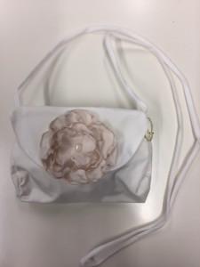 MONNY Tasche passend zu Kommunionkleid AUSBRENNER 13 ecru rose