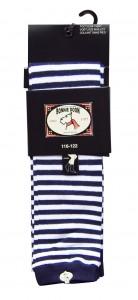Bonnie Doon Capri-Legging Streifen rot-weiß