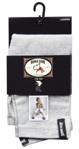 Bonnie Doon Basic Capri-Legging hellgrau melange