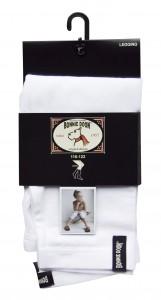Bonnie Doon Basic Capri-Legging weiß
