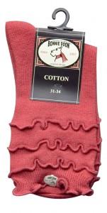 Bonnie Doon Socken Frou Frou rot