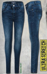 Blue Effect Mädchen Ultrastretch Jeans medium blue SUPER SLIM