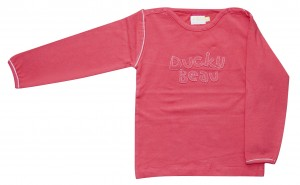 Ducky Beau Shirt / Longsleeve rot