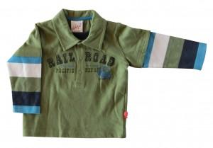Whoopi Shirt / Longsleeve herbal green