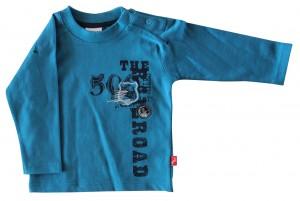 Whoopi Shirt / Longsleeve mittelblau