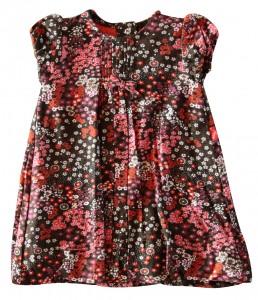 Whoopi Kleid mit Alloverdruck