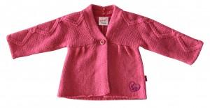 Whoopi Strick-Jacke / Cardigan pink