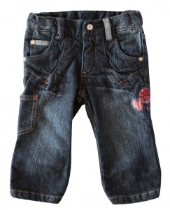 Whoopi Jeans-Hose blue denim
