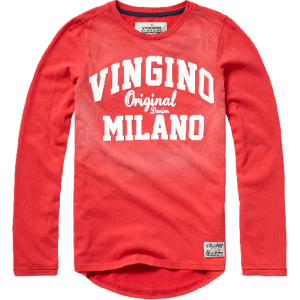 Vingino Langarm-Shirt/Longsleeve JEFLIN burnt red