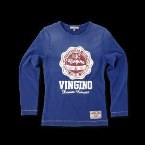 Vingino Langarm-Shirt / Longsleeve JOTTE Vince Blue