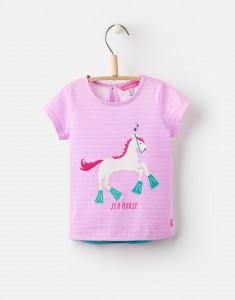 Joules Mädchen T-Shirt MAGGIE Pferd