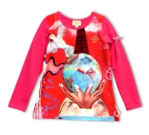Pezzo D´oro Charity Langarmshirt/Longsleeve pink lang