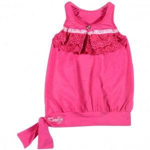 Kiezel-tje Top pink