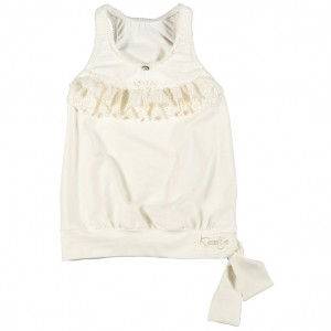 Kiezel-tje Top off-white