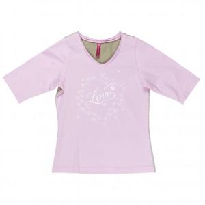 Kiezel-tje 3/4-Arm-Shirt mit Print pink
