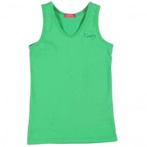 Kiezel-tje Basic Singlet / Top grün