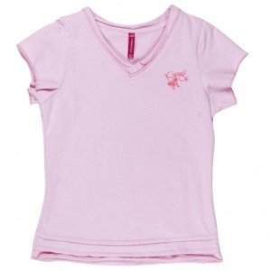 Kiezel-tje Basic T-Shirt light pink