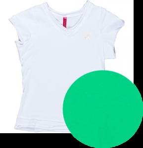 Kiezel-tje Basic T-Shirt grün