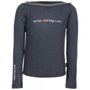 Kiezel-tje Langarm-Shirt/Longsleeve dot blue