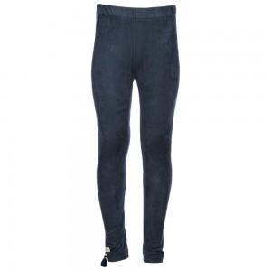Kiezel-tje Legging suedine blue