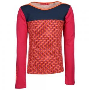 Kiezel-tje Langarm-Shirt/Longsleeve Muster fuchsia