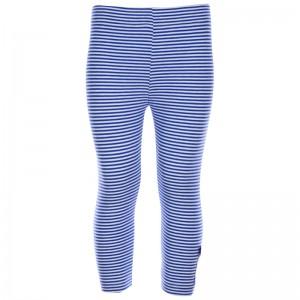 Kiezel-tje 3/4-Legging Streifen blau/weiß
