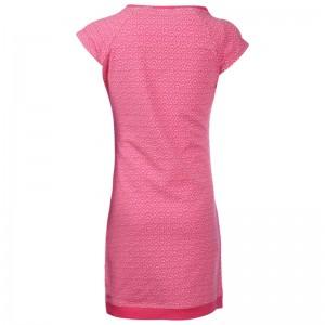Kiezel-tje T-Shirt-Kleid Print pink