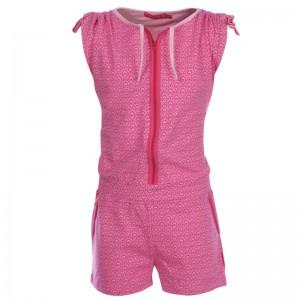 Kiezel-tje Jumpsuit/Jump-Short Print pink