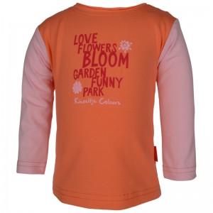 Kiezel-tje Mini Langarm-Shirt/Longsleeve orange