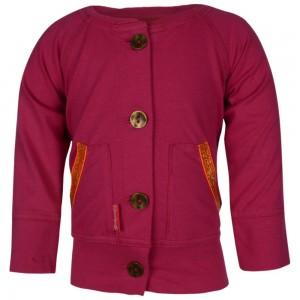 Kiezel-tje Mini Bomber Cardigan pink