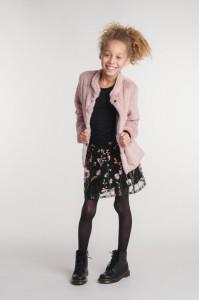 KIE stone Kuschel-Jacke light pink