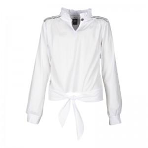 KIE stone Bluse white